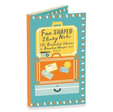 Shaped Sticky Notes - Travel - Bobangles.  #Bobangles #travel #design #gift #Australia