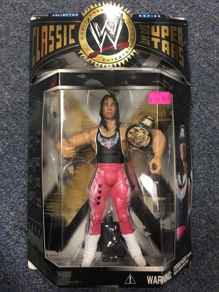 WWE Classic Super Stars Bret The Hitman Hart