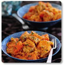 Slimming world Dhansak (only made with chicken not lamb) mmmmm...