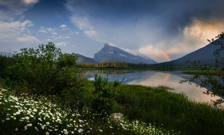 ***After the storm (Mt Rundle, Banff, Alberta) by David Dai on 500px