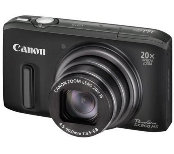 PowerShot SX260 HS Advanced Compact Digital Camera - Black