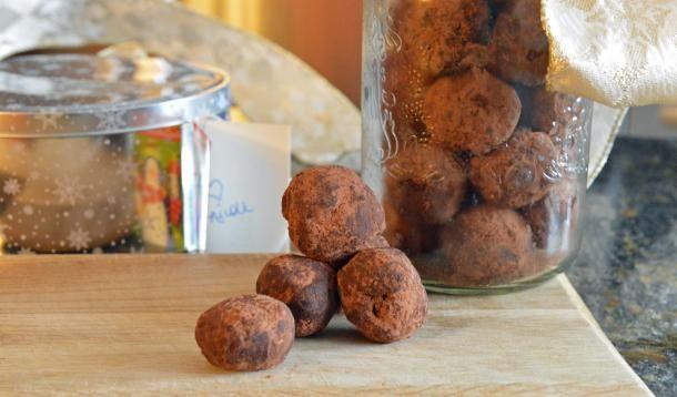 Chocolate Truffles. Vegan gluten free.