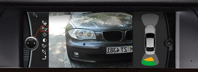 Rückfahrkamera : BMW ConnectedDrive
