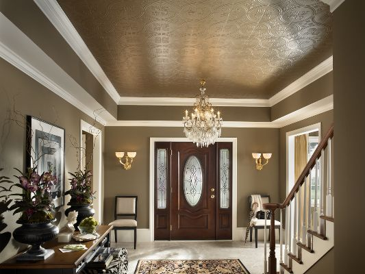 37 Best Tin Metal Ceiling Tiles Images On Pinterest