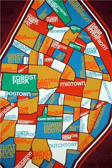 Saint Louis neighborhoods. <3 http://oliocity.com/download