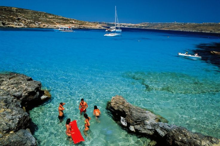 #Comino and the #BlueLagoon.