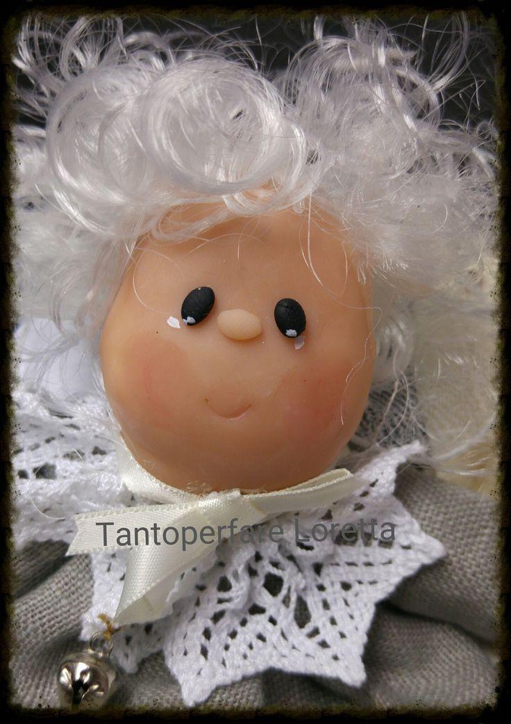 Angelo tessuto e ceramica - Collezione My Angel : Cameretta bambino, bebè di tantoperfare-loretta
