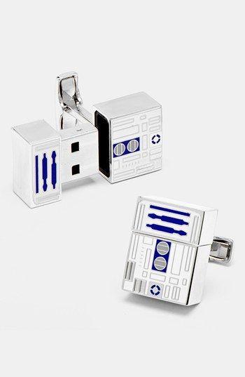 'Star Wars - R2D2' 4GB Flash Drive Cuff Links #FathersDayGift