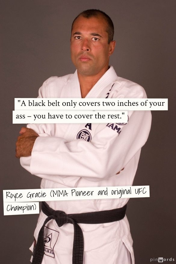 Royce Gracie - UFC 1, 2 and 4 Tournament Champion with all UFC wins by submission .bad muther f*$/$#