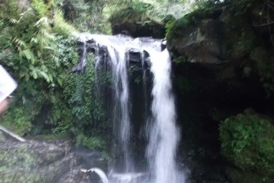 waterfall at guci tegal