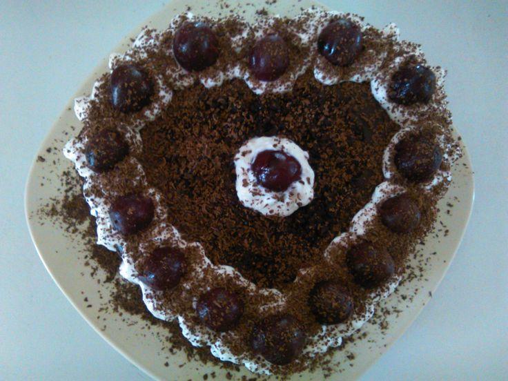 Lenka lányom szülinapi tortája