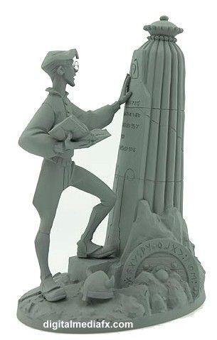 The Maquettes of Atlantis: The Lost Empire (Maquette)