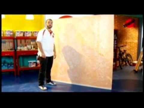 Cómo pintar paredes con efectos? fácil y con estilo - P38 - 2/3 - YouTube