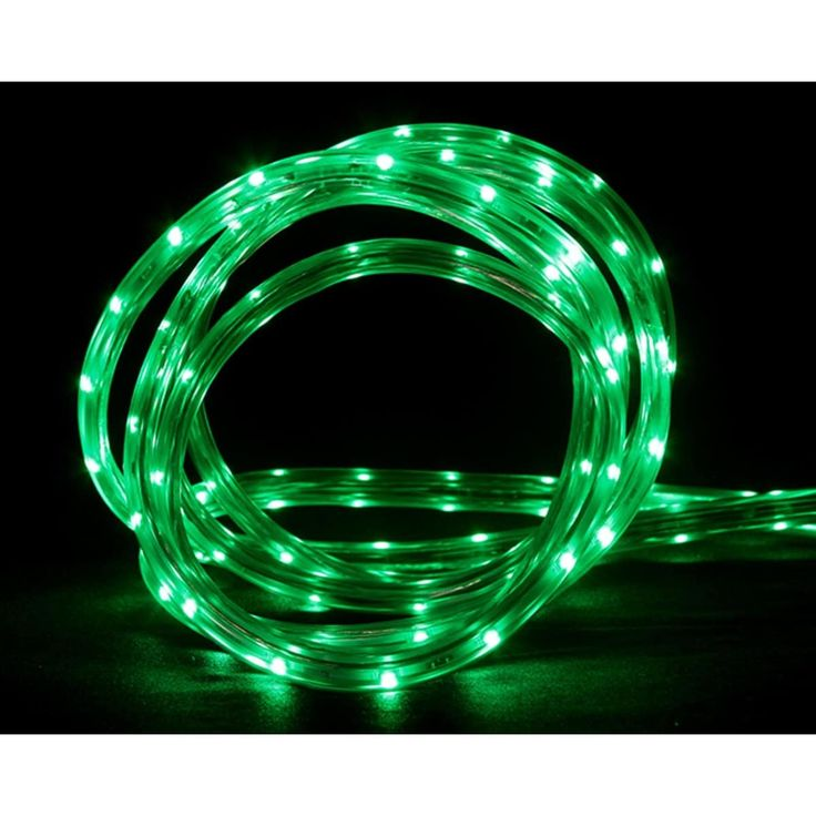 30' Green LED Indoor/Outdoor Christmas Linear Tape Lighting