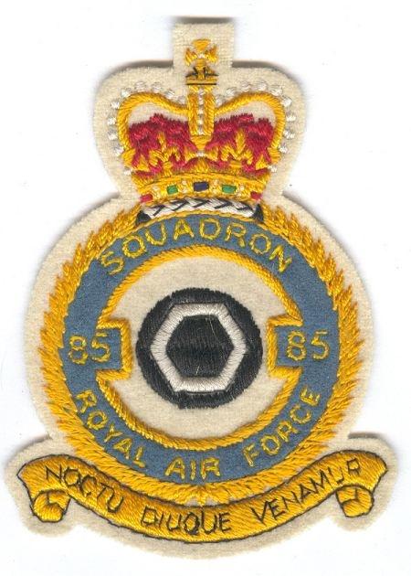 RAF-85Sqn crest
