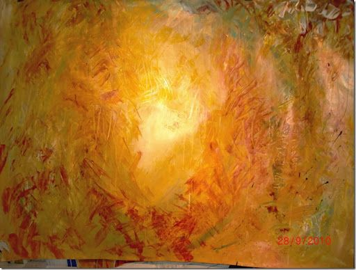 Zao Wou Ki - The light is absolutely amazing in this painting!