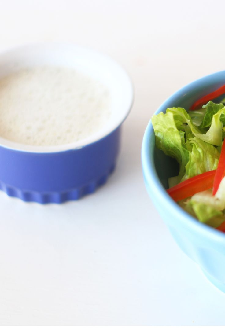 Hemp Seed Dressing  This dairy-free salad dressing is perfect for any vegetables or greens. It's rich and creamy and full of healthy fats.