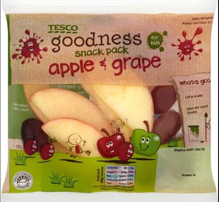 tesco.com  Tesco goodness fruit snack pack