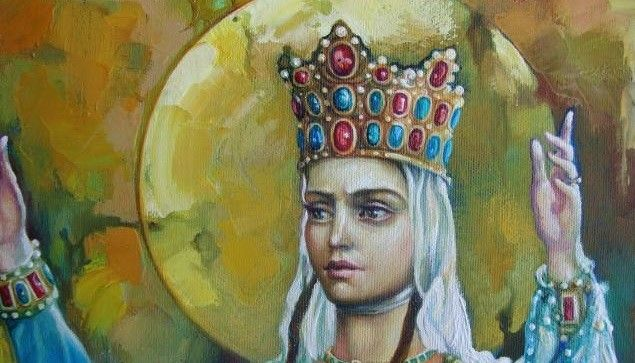 Tamar of Georgia -- 1160s. Tamar was born into Georgian aristocracy and was allowed to be Heir Apparent because of her intelligence. After her father's death, she became king (not queen) and crushed any public objection to a female ruler. She defended Georgia's borders and was responsible for the country's Golden Age. She also banished her first husband after he tried to stage a coup.
