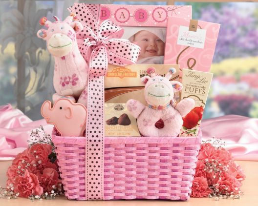 Baby shower 7 pinterest complete set of baby shower gift ideas for girls negle