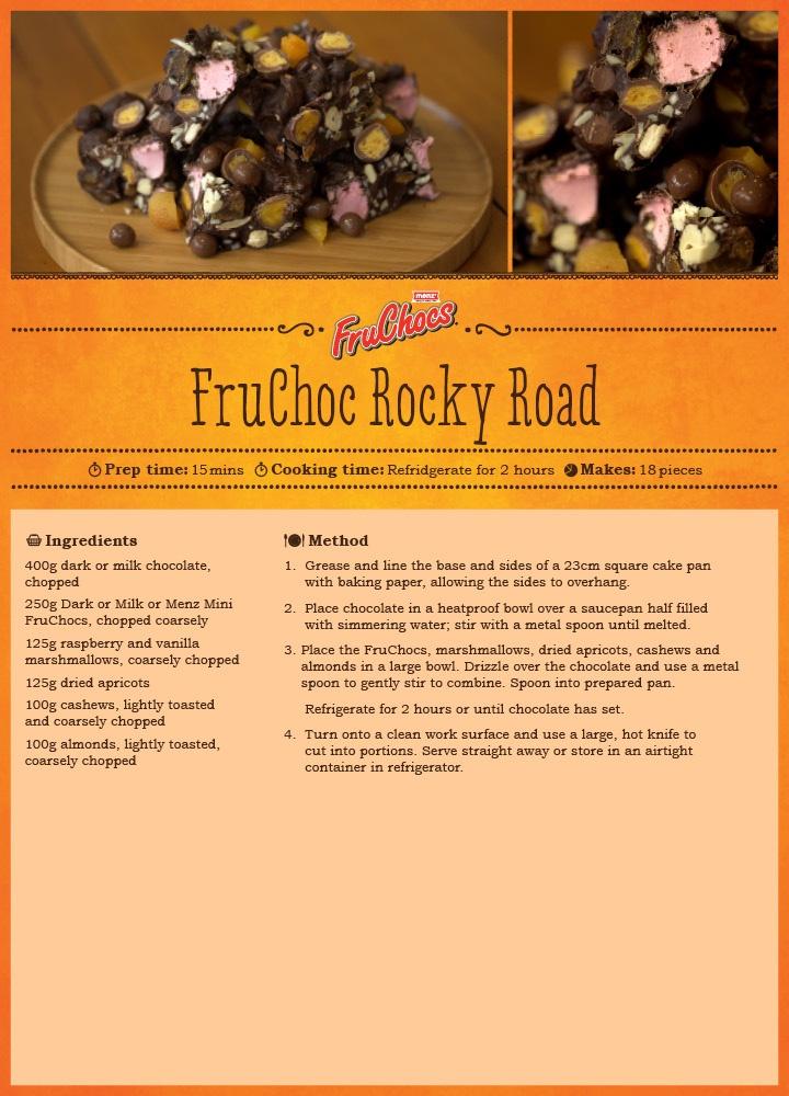 FruChoc Rocky Road