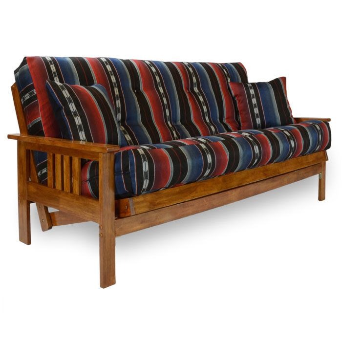 Found it at www.dcgstores.com - ♥ ♥ Stanford Wood Futon Frame - Heritage Finish ♥ ♥