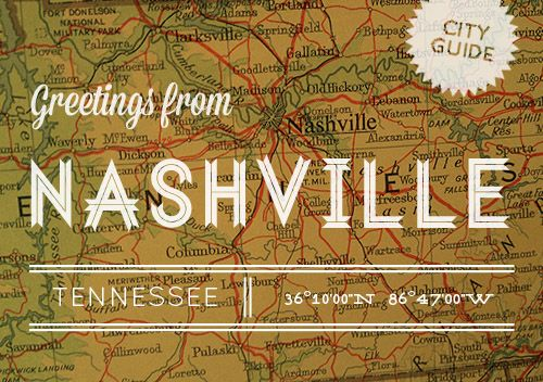 Nashville!! This guide is amazing...and definitely some places on here I have yet to check out!