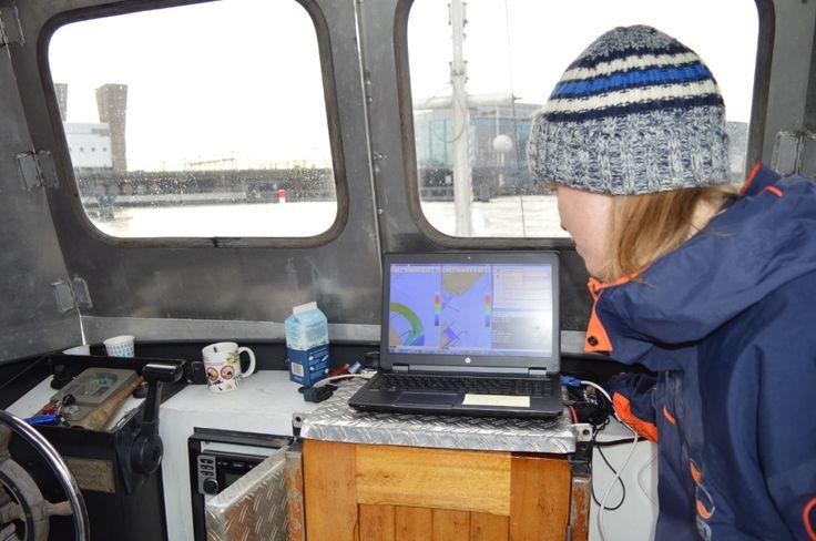 ELMF 2014 Test reale Seabed nei canali di Amsterdam