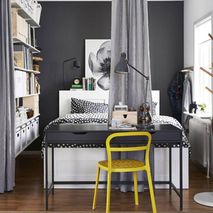 Délimitez les espaces grâce à des rideaux