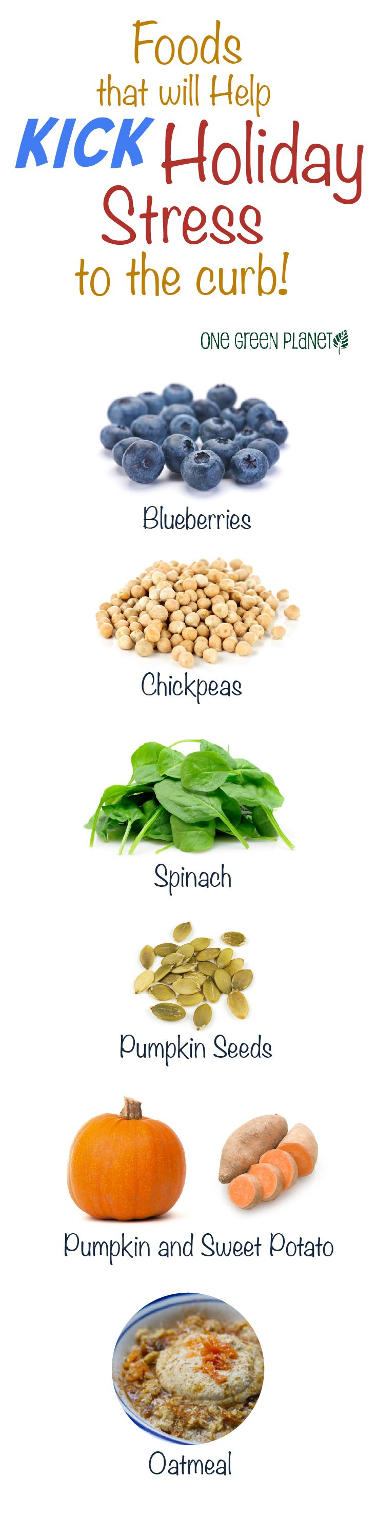 Foods that Help Kick Stress to the Curb.