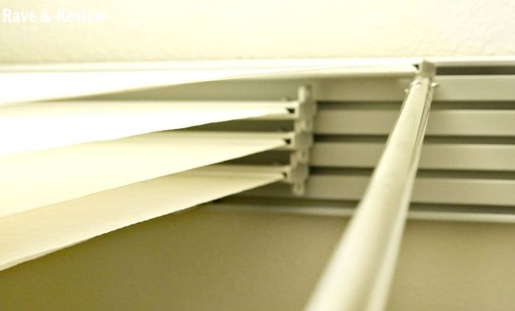 Blinds Sliding Panels Vertical Finishing Touch Forward Conceal