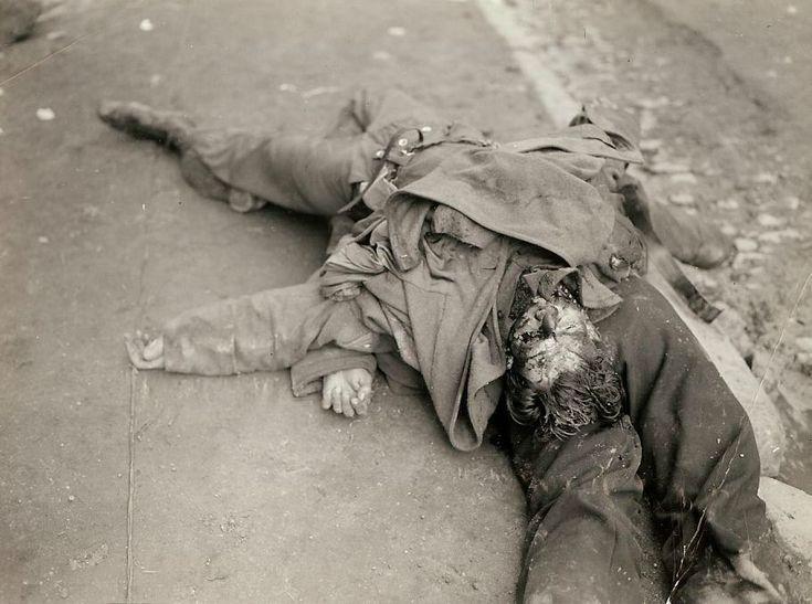 Foto inedite mostrano gli orrori della - WWII - Seconda Guerra Mondiale