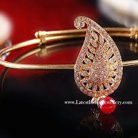 Sleek Designer Gold Baju Bandh