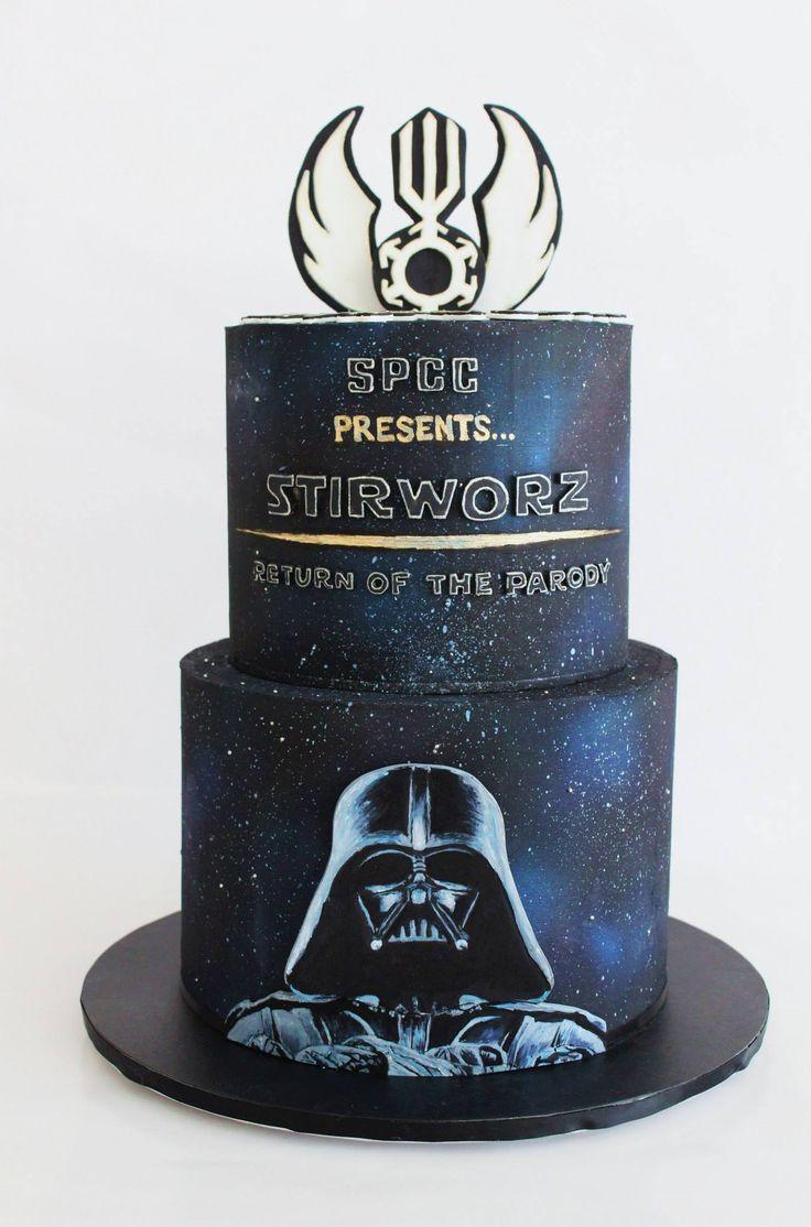 A Sweet Purpose - Stirworz production cake. Airbrushed smooth...