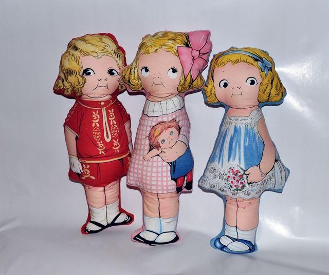Textilné dekorácie: Ella, Molly a Lilly