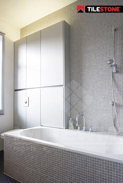 25 beste idee n over kleine witte badkamers op pinterest grijswitte badkamers badkamers en - Kleine badkamer zen ...