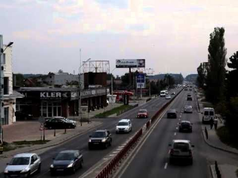 Panou publicitar DN1 (Prisma) - masuratori trafic autovehicule - YouTube