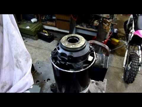 Open Scroll Compressor Pt2 - Running Dismantled