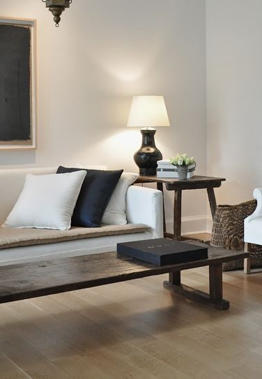 contemporary clean lines for the living room