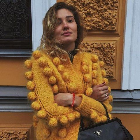 lalo cardigans street style -