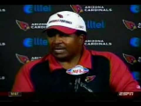 "Classic clip!  Dennis Green ""They are what we thought they were, and we let them off the hook!"""