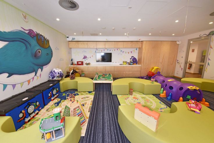 Custom ottomans by Burgtec (Ronald McDonald House Perth)