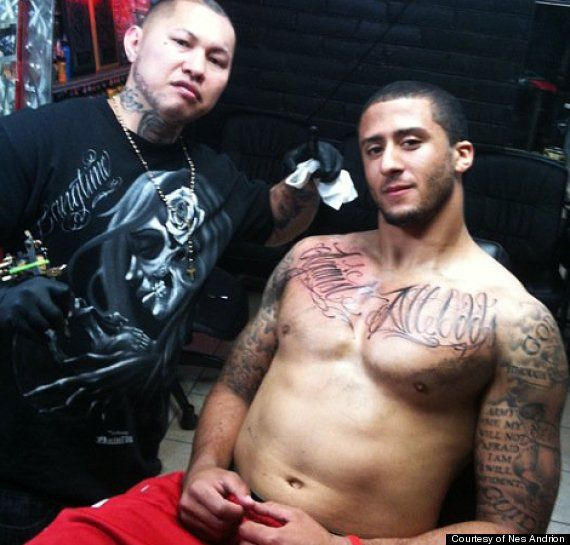 colin kaepernick tattoos>> <3