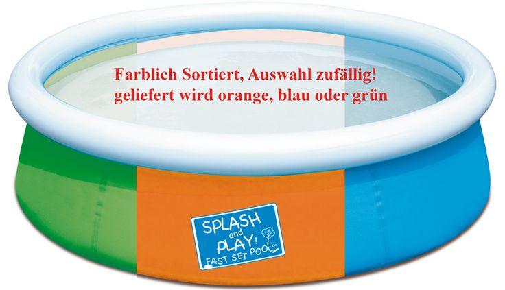 "Bestway 57241 Fast Set Pool ""My first Fast Set Pool "" 152 x 38 cm   POOLS   POOLS & SPA   FREIZEIT   Kajak Kanu Elektromotor bei BeachandPool.de online kaufen"