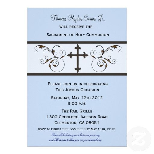 16 best first holy communion invitations images on pinterest first modern communion invitations for boys stopboris Choice Image