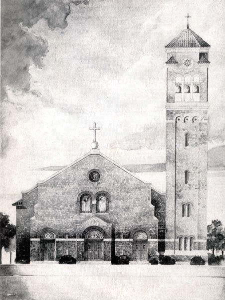 Camden NJ - Our Lady of Mt. Carmel Roman Catholic Church - 1903-1953 50th Anniversary Book