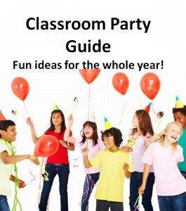 Fun Class Party Ideas: Crafts, Games, Treats and more for every season all school year!