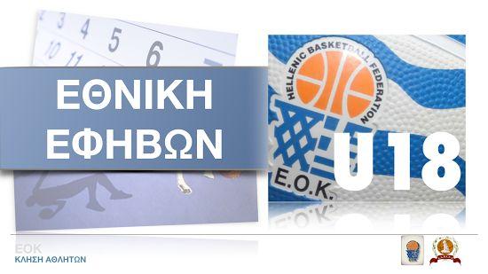 EOK | Εθνική Εφήβων : Προπόνηση για το κλιμάκιο Νότου (15.06.2016). Οι παίκτες που έχουν κληθεί.