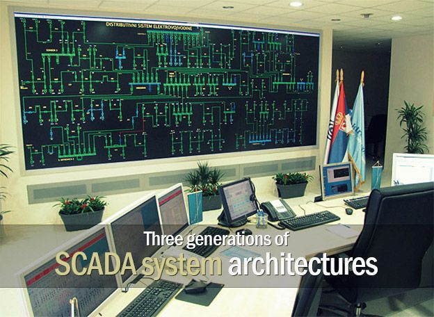 Three generations of SCADA system architectures