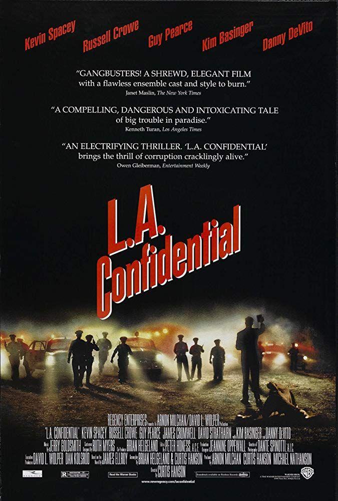L A Confidential 1997 Cartaz De Filme